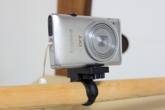 カメラのハンドルバーマウント