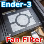 Ender-3 Fan filter