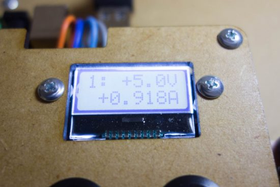 モバイルバッテリー 充電中の電流