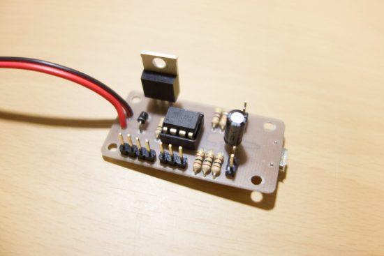 Tiny13Aを使ったPWM方式スピードコントローラー