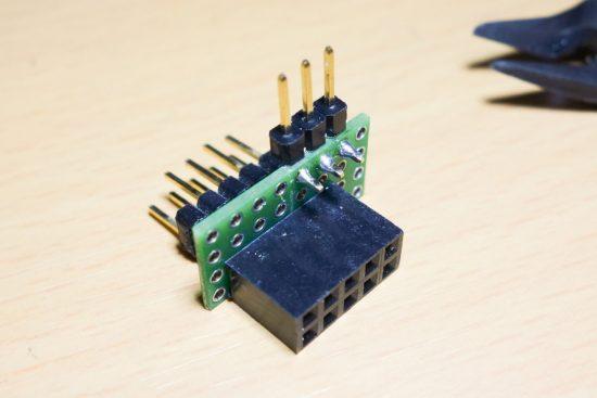 Touch sensor adapter