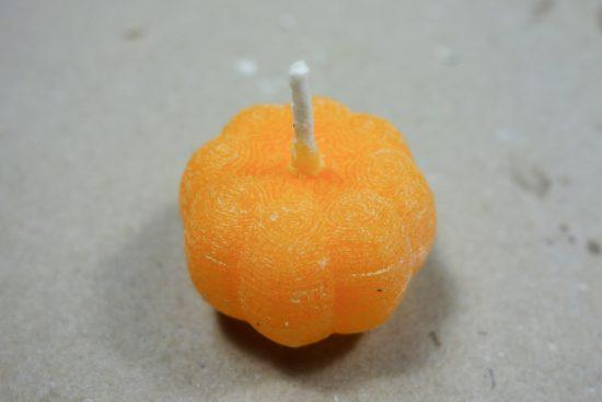 かぼちゃ?のキャンドル